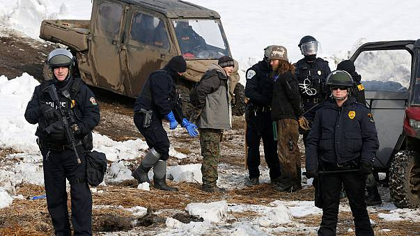 Desalojado el último bastión de resistencia al oleoducto Dakota Access