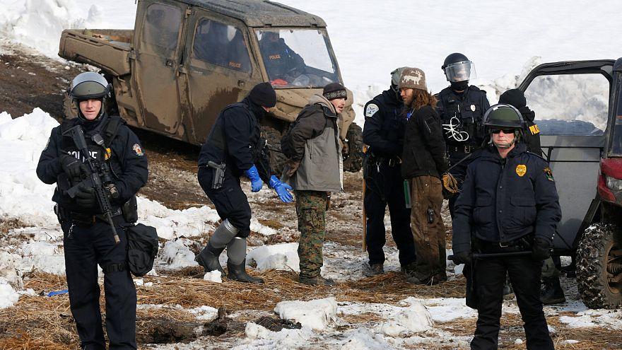 North Dakota: Polizei räumt Protestcamp gegen Pipeline