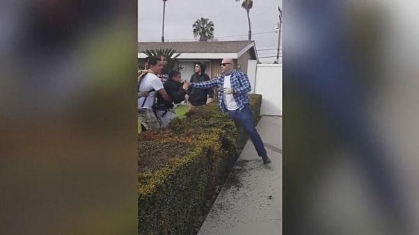 Драка в Лос-Анджелесе