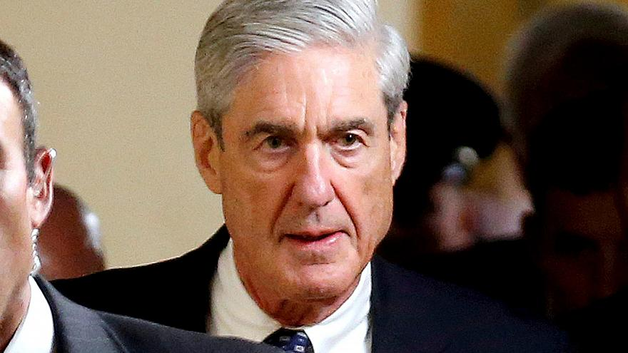 Image: Special Counsel Mueller departs after briefing members of the U.S. S
