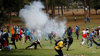Afrique du Sud : la police disperse des manifestants anti-immigrés