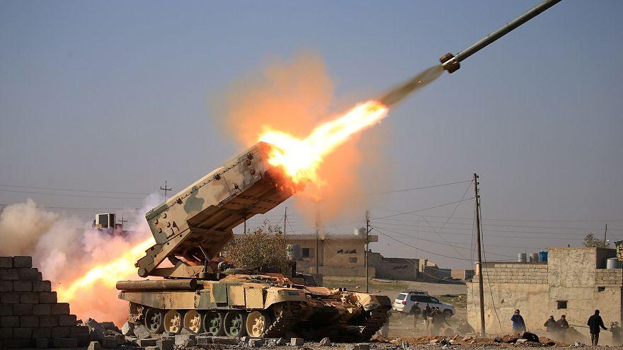 Musul havalimanını alan Irak ordusu kentin batı yakasına girdi