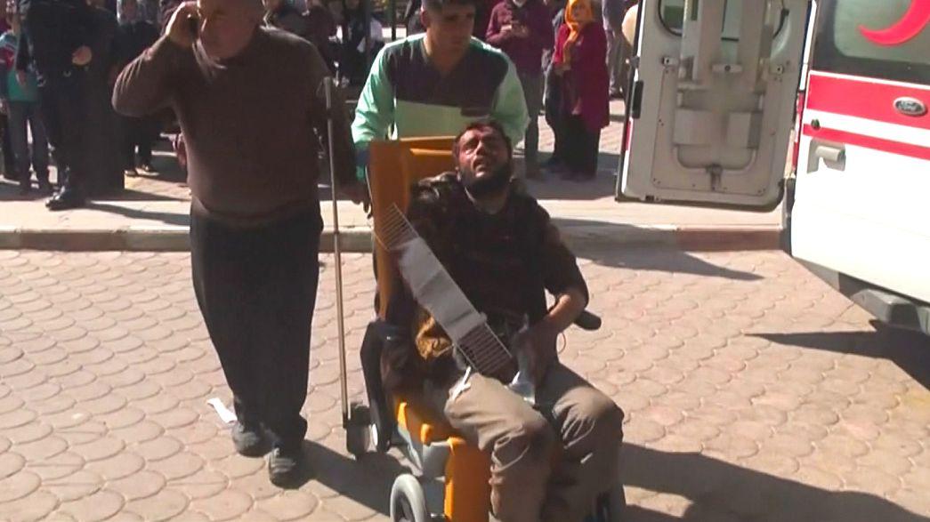 Siria, attacco con autobomba vicino ad Al Bab:oltre 40 morti e decine di feriti