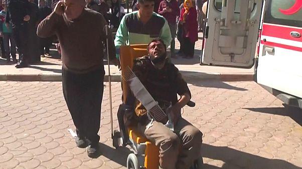 Anschlag im Nordosten Syriens: mindestens 40 Tote