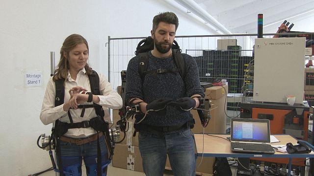 Takeaway: the body-enhancing exoskeleton