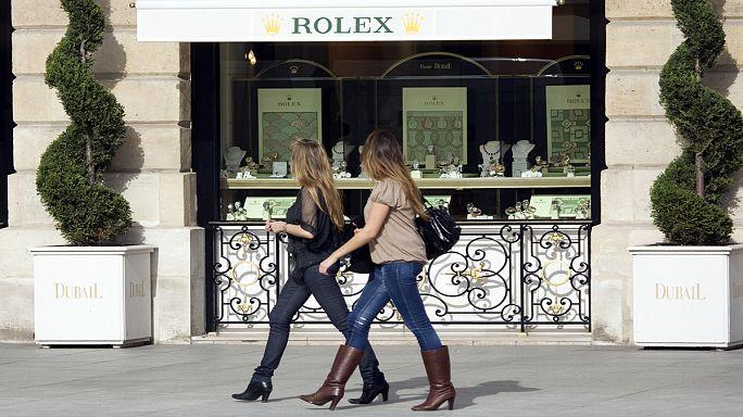 La confianza de los consumidores franceses se mantiene en lo más alto