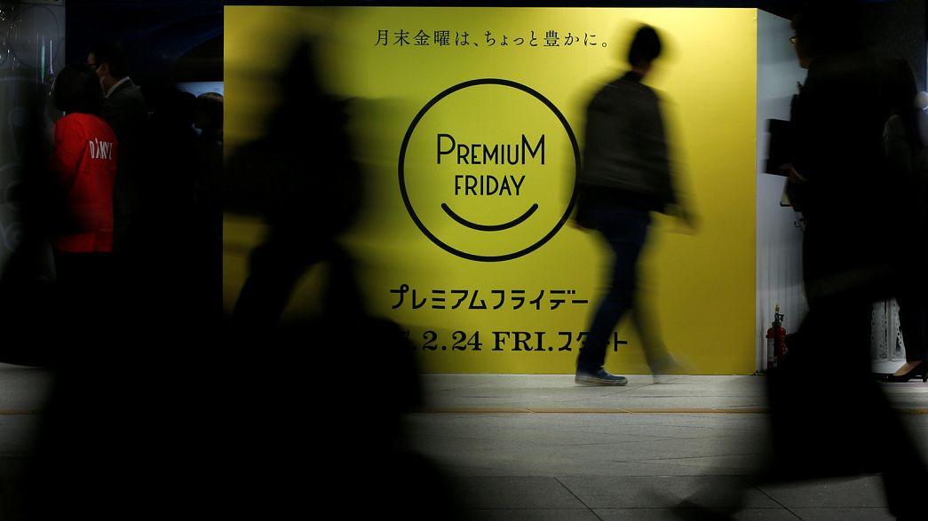 Prémium péntek Japánban: emberek, dolgozzatok kevesebbet!