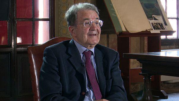 """Romano Prodi a euronews: """"il mio euro era diverso da oggi, sì a doppia velocità"""""""