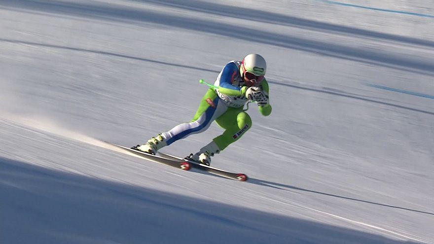 Bostjan Kline se hace con el descenso de Kvitfjell