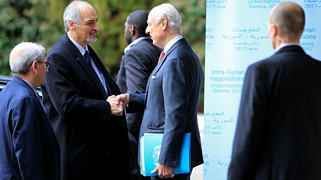 Slow progress: UN-led peace talks on Syria on shaky ground