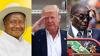 Museveni like Mugabe supports Trump's nationalism agenda but …
