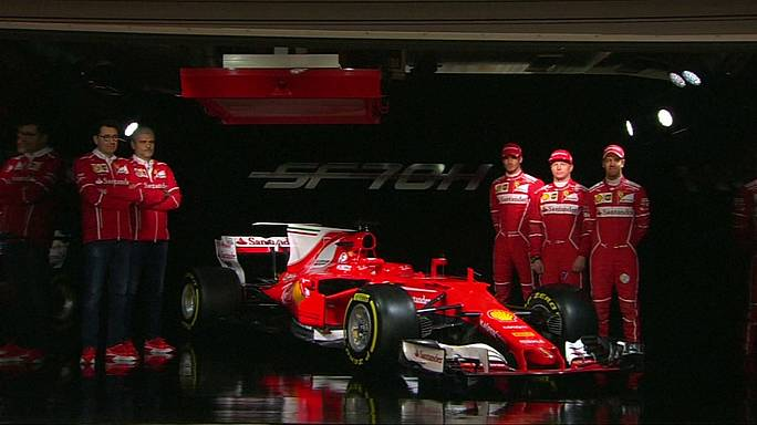 Ferrari and McLaren-Honda unveil 2017 challengers