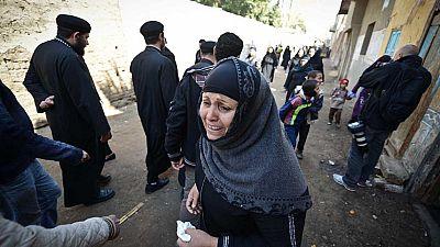 Egyptian christians flee from Sinai
