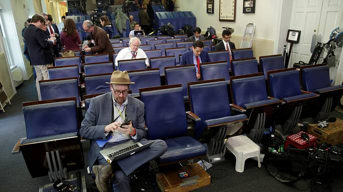White House causes outrage by blocking reporters from briefing