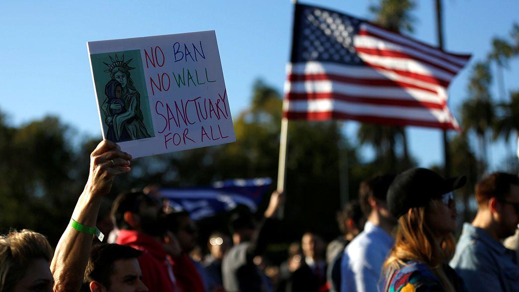 Hollywood troca festa dos Óscares por protesto anti-Trump