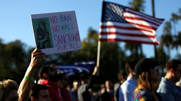 Hollywood yıldızlarından Trump karşıtı protesto
