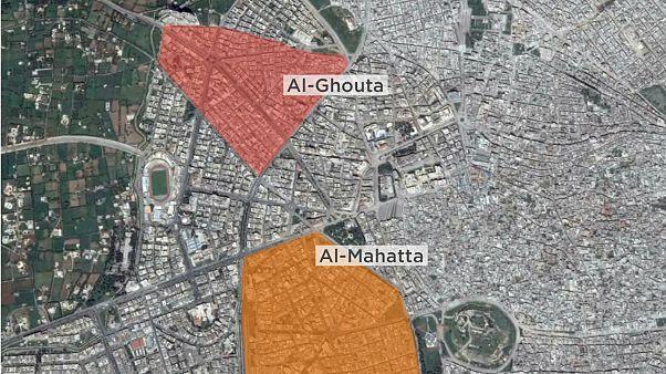 Suriye'nin Humus kentinde çifte intihar saldırısı