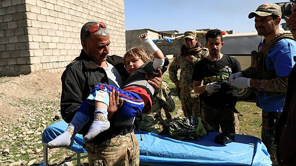 استمرار تحرير غرب الموصل وإجلاء المدنيين من بؤر المعارك