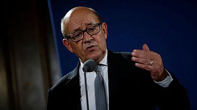 Jean-Yves Le Drian demande au Mali de prendre ses responsabilités