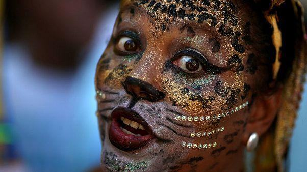 کارناوال سالانه سامبا در ریوی برزیل