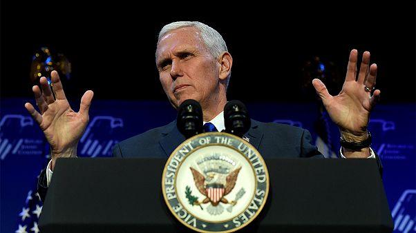 مایک پنس: آمریکا قاطعانه در برابر اقدامات تحریکآمیز ایران میایستد