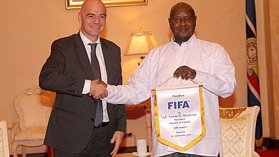 Infantino promises support for Ugandan football
