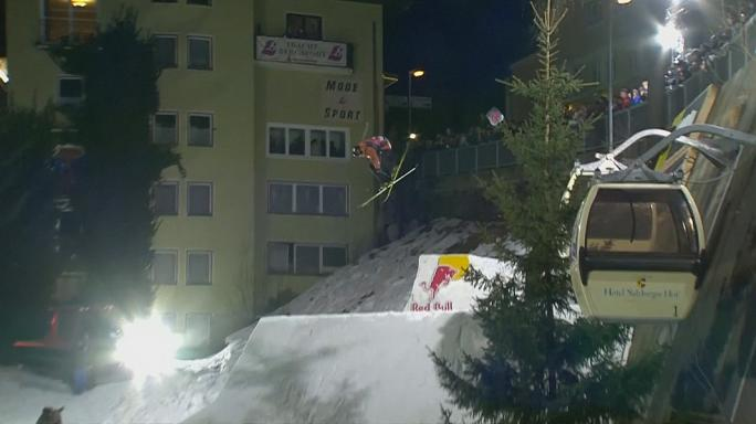Ski-Akrobatik in Bad Gastein
