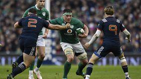 راگبی شش ملت: پیروزی تیم های ایرلند و اسکاتلند در سومین روز مسابقات