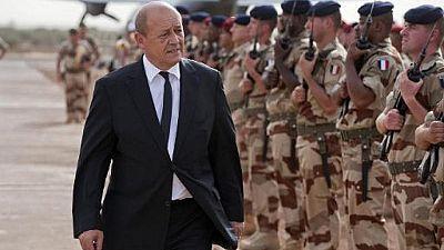 Mali : Jean-Yves le Drian rend visite à la force Barkhane