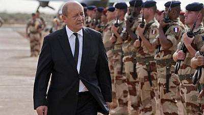 "Peace in Mali on the ""right path"" - French defence minister"