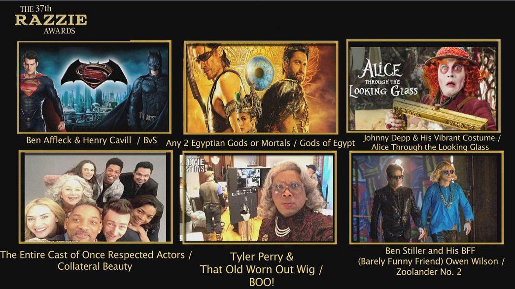 A Hollywood, même les Razzie Awards sont politiques