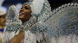 Csúcson a riói karnevál