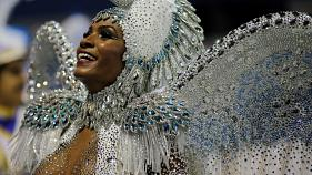 Rio's carnival in full swing with elite samba school parades