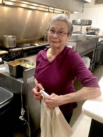 Eleanor King, the owner of King\'s Diner in the
