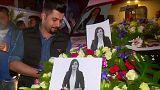 وقفة ترحم على صحافية قتلت أثناء تغطيتها للمعارك في الموصل
