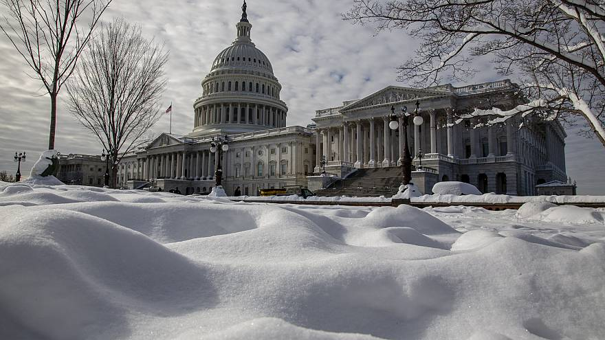 Image: The Capitol on the 24th day of the partial government shutdown on Ja