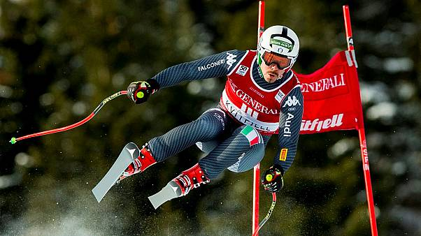 Italian veteran Fill wins first career super-G race
