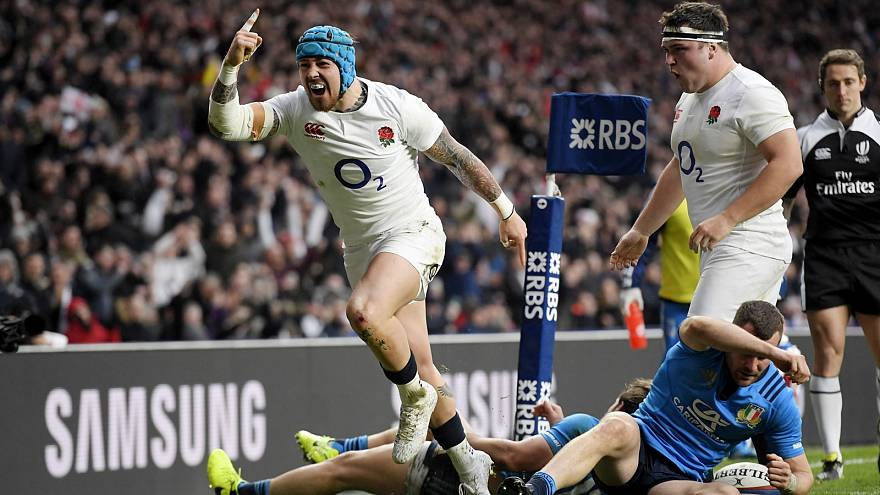 England remain on track for back-to-back Six Nations titles after entertaining Italy win