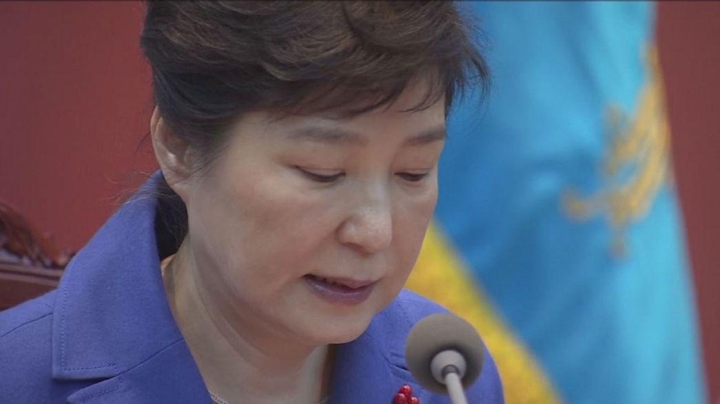 Nem folytatódik a vizsgálat a felfüggesztett dél-koreai elnök ügyében