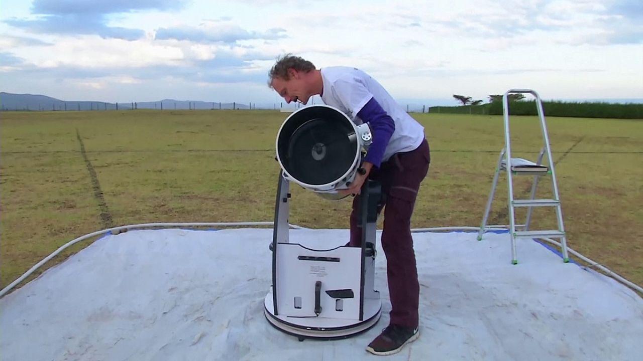 Telescópio desperta interesse pela ciência nas crianças do Quénia
