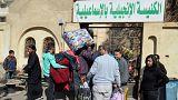 فرار نحو أربعين عائلة مسيحية من سيناء بفعل تهديدات إرهابية