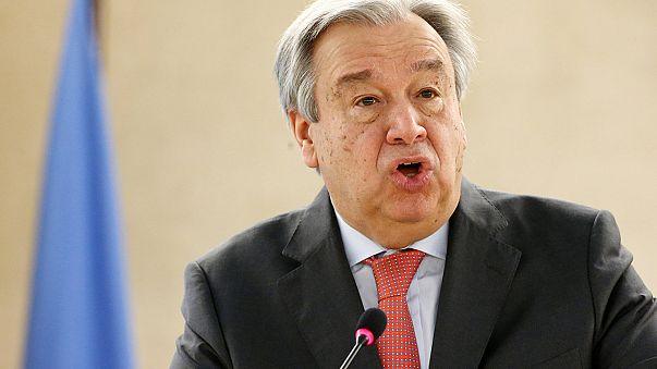 Direitos Humanos: Guterres pede à comunidade internacional que não fuja às responsabilidades