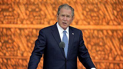 """George W. Bush, portraitiste des soldats de la """"guerre contre le terrorisme"""""""