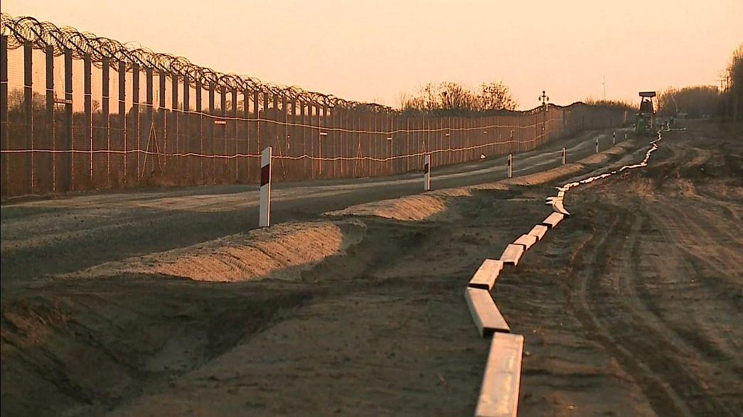 آغاز دومین مرحله حصارکشی در مرز مجارستان با صربستان