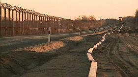 Már épül az újabb kerítés a szerb határon