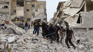Syria: at least 11 dead in suspected Idlib airstrike