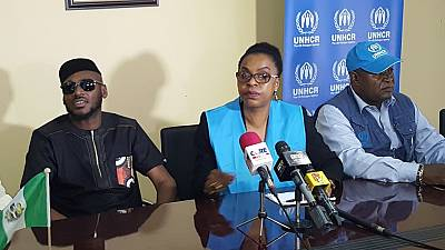 Nigerian musician donates $11,000 to UNHCR for humanitarian efforts