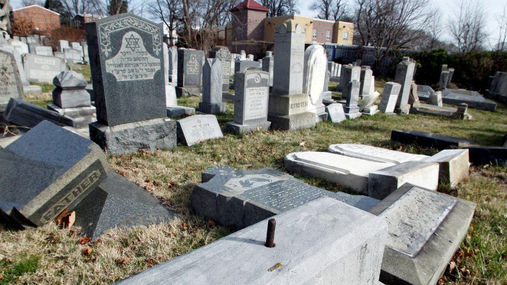 New surge in anti-Jewish crimes prompts Trump condemnation
