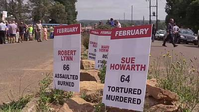 South Africa: Three in court over brutal murder of British expat's wife