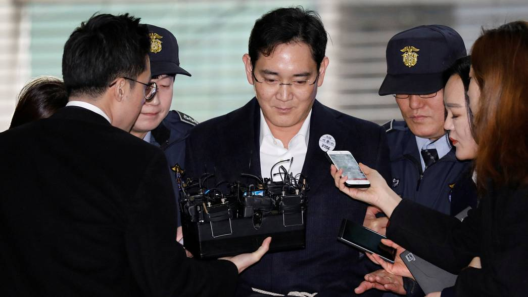 Corée du Sud : l'héritier du groupe Samsung inculpé pour corruption